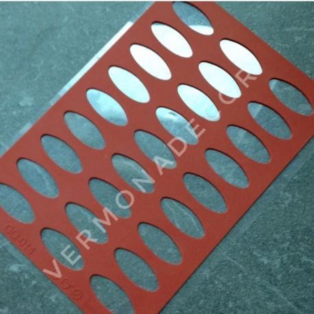 Силиконовый трафарет для шоколада N2